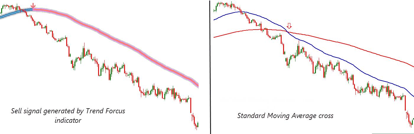 how trend focus indicator works